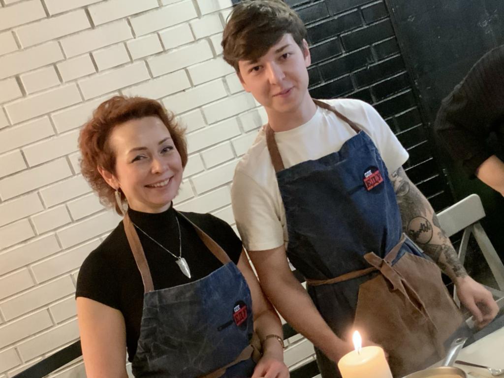 семейные мероприятия в кулинарной студии