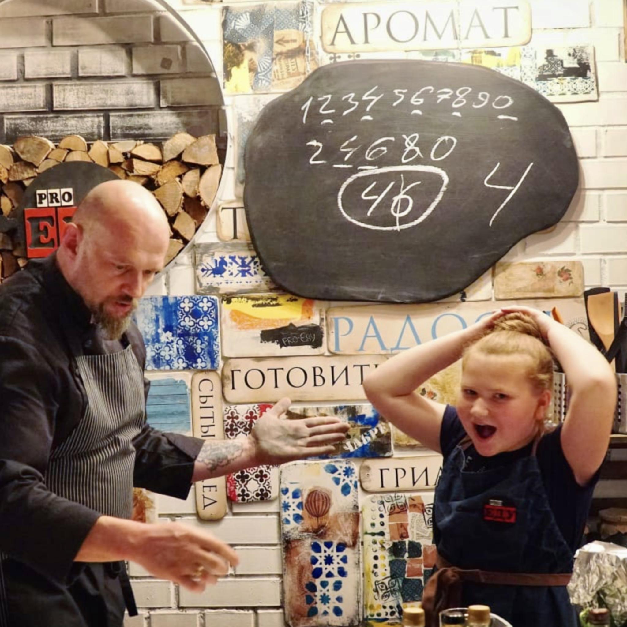 Детский день рождения в Москве.